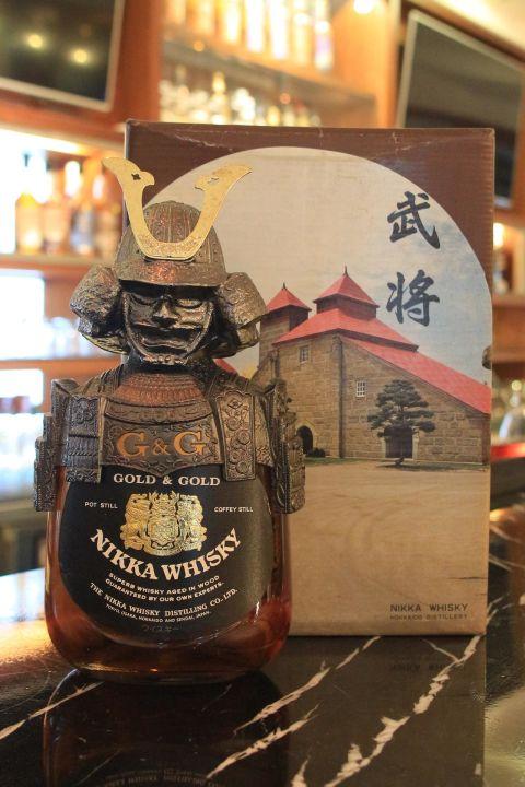 Nikka whisky Gold & Gold Kabuto 一甲威士忌 武將 (750ml 43%)