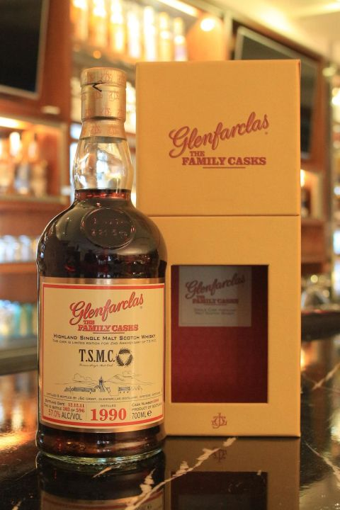 (現貨) Glenfarclas 1990 The Family Casks 格蘭花格 1990 家族桶 (700ml 57%)