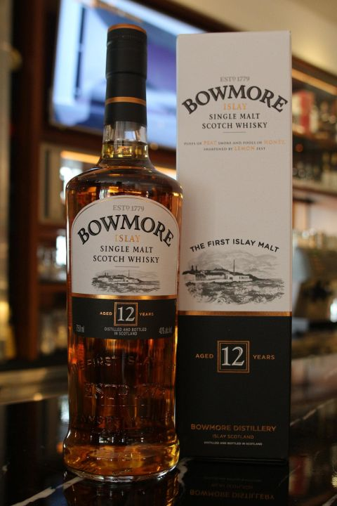 (現貨) Bowmore 12 years 波摩 12年 (700ml 40%)
