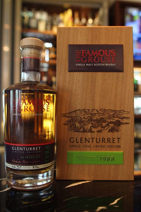 Glenturret 25 years 1988 陀崙特 25年 1988 單桶原酒 (700ml 46.3%)