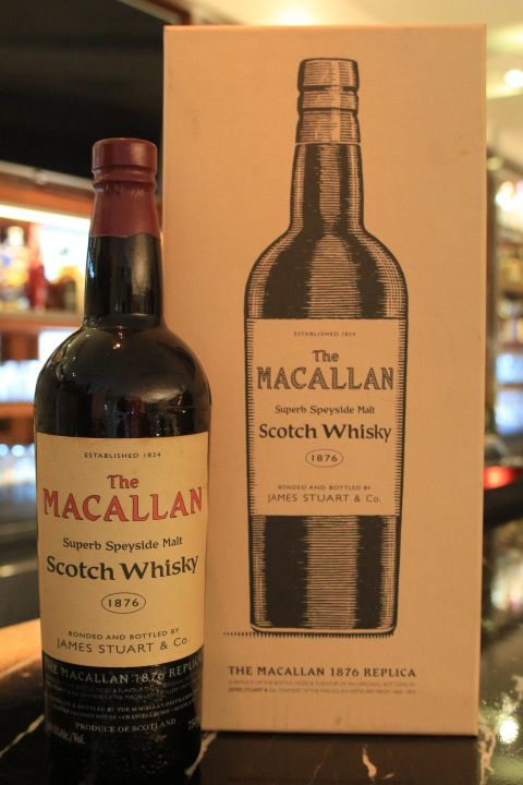 (現貨) Macallan 1876 Replica 麥卡倫 1876 復刻版 (750ml 40.6%)