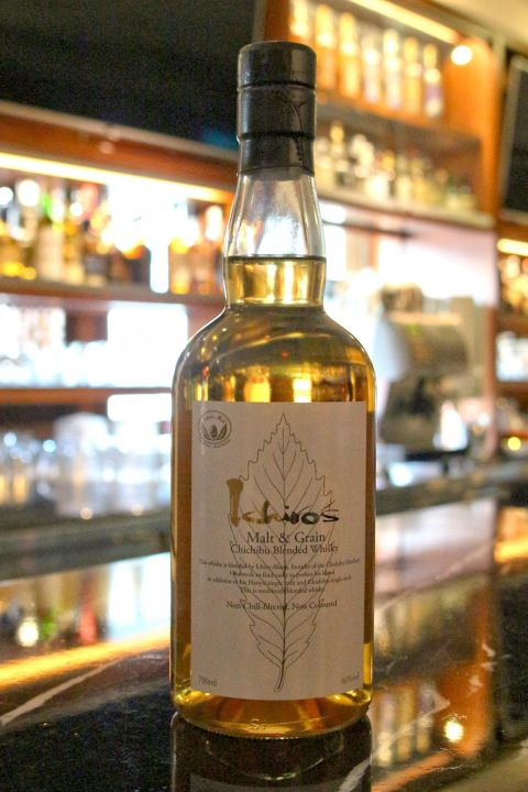 (現貨) CHICHIBU Ichiro's Malt Malt & Grain Blended Whisky 秩父 白葉 (700ml 46%)