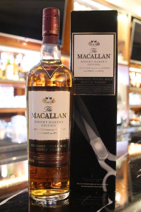 MACALLAN X-Ray Whisky Maker's Edition 麥卡倫 X光系列 剪刀 (700ml 42.8%)