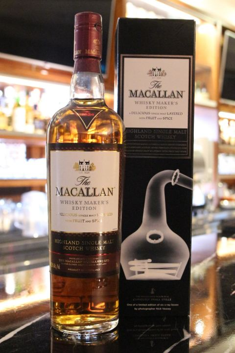 MACALLAN X-Ray Whisky Maker's Edition 麥卡倫 X光系列 蒸餾器 (700ml 42.8%)