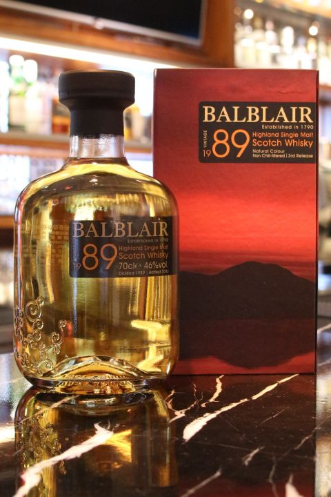 BALBLAIR Vintage 1989 巴布萊爾 1989  (700ml 46%)