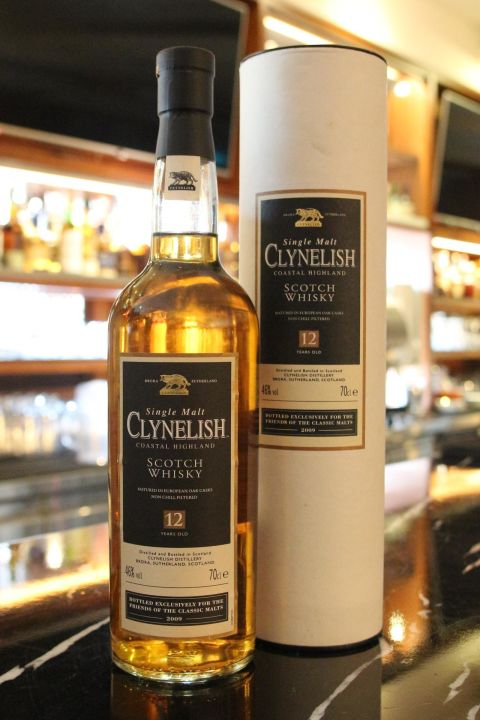 CLYNELISH 12 years 克萊力士 12年 單一麥芽威士忌 絕版逸品 (700ml 46%)