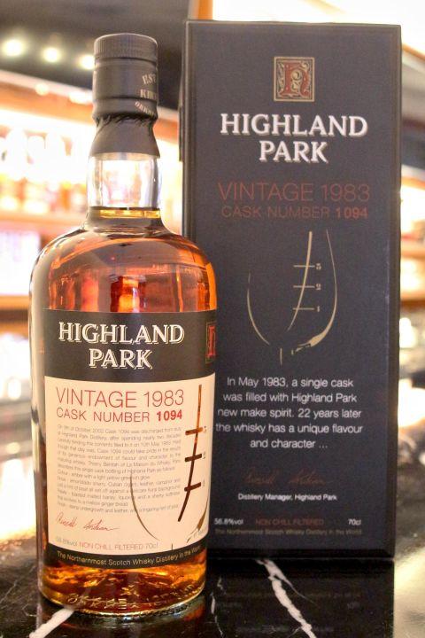 Highland Park 1983 single cask 高原騎士 1983 單桶 (700ml 56.8%)