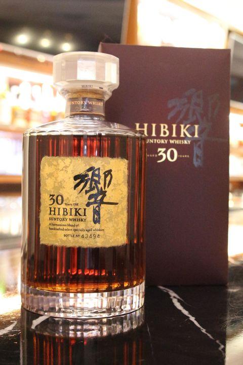 (現貨) HIBIKI 30 years 響 30年 (700ml 43%)