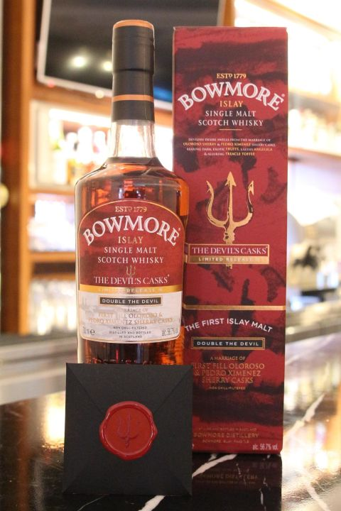 (現貨) Bowmore Double The Devil's Limited Release 3 波摩 惡魔 第三版 原酒 (700ml 56.7%)