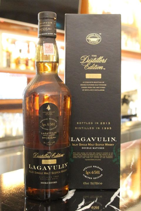 (現貨) LAGAVULIN 1995 Distillers Edition Bottled 2013 拉加維林1995 酒廠限定版 2013裝瓶 (700ml 43%)