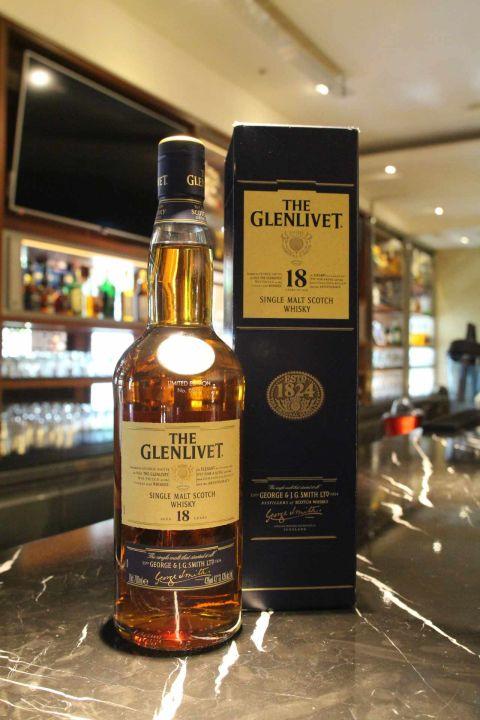 GLENLIVET 18 years 格蘭利威 18年 (700ml 43%)