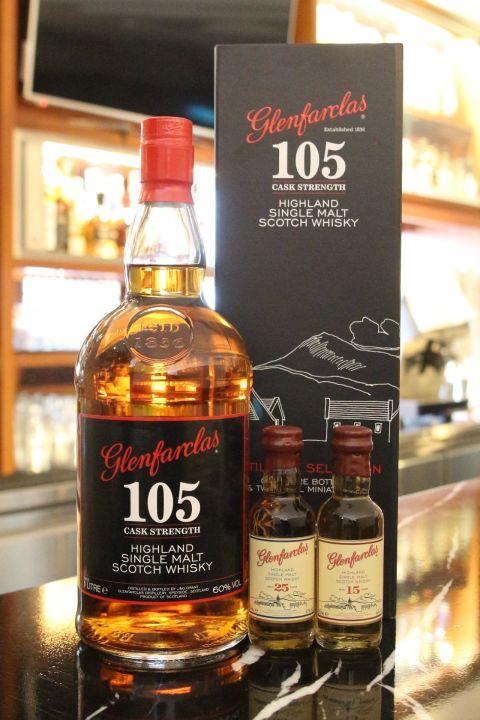 Glenfarclas 105 8 years 格蘭花格105 8年 原酒 精裝版 (1000ml 60%)