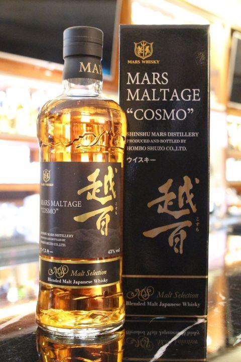 (現貨) Mars Maltage COSMO Blended Whisky 越百 日本純麥調和威士忌 (700ml 43%)