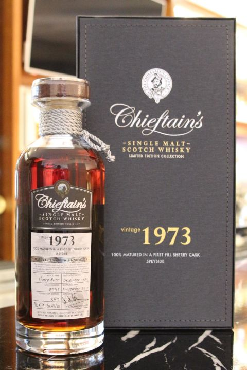 (現貨) Chieftain's Vintage 1973 Single Cask 老酋長 1973 單桶 MMA金牌 (700ml 57.4%)