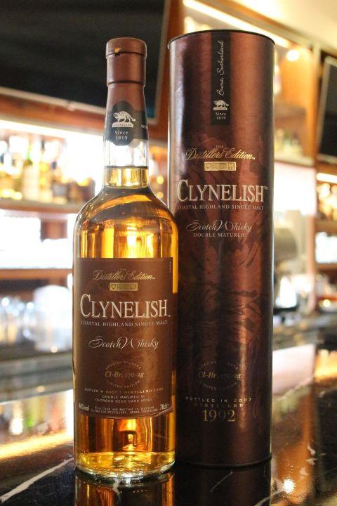 CLYNELISH 1992 克萊力士 1992 單一麥芽威士忌 絕版逸品 (700ml 46%)