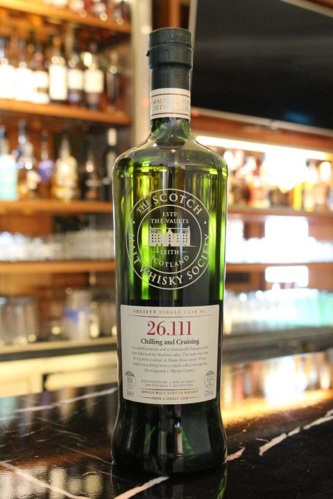 (現貨) SMWS 26.111 Clynelish 10 years 克萊力士 單桶原酒 10年 蘇格蘭威士忌協會 (700ml 57.8%)