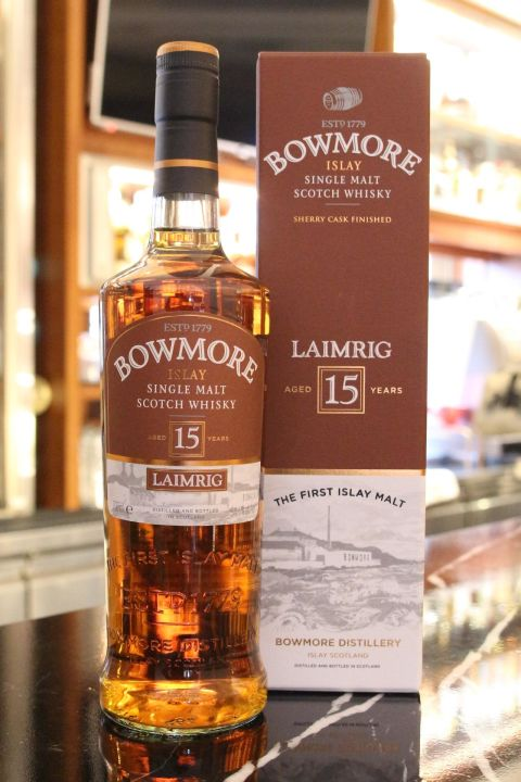 (現貨) Bowmore 15 years LAIMRIG 波摩 15年 雪莉桶 原酒 第四版 (700ml 54.1%)