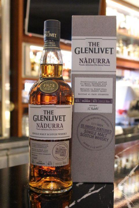 GLENLIVET NADURRA Batch OL0614 格蘭利威 原酒 (700ml 60.7%)