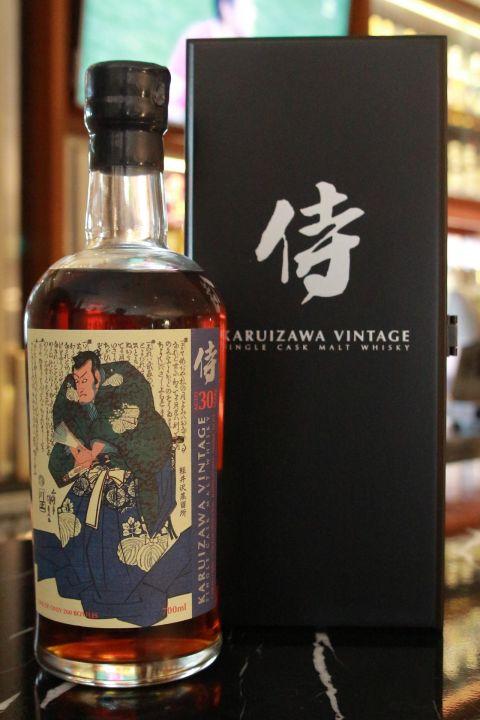Karuizawa Vintage 30 years 輕井澤 侍 第3版 (700ml 60.8%)