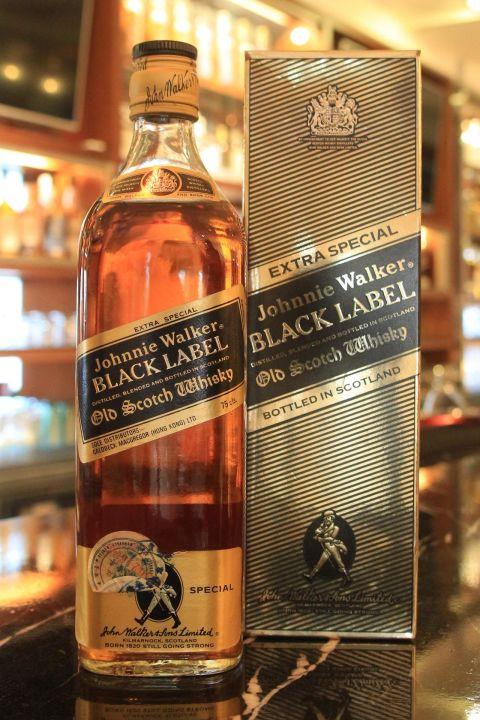 Johnnie Walker old black label 約翰走路 老黑牌 公賣局 老酒 (750ml 43%)