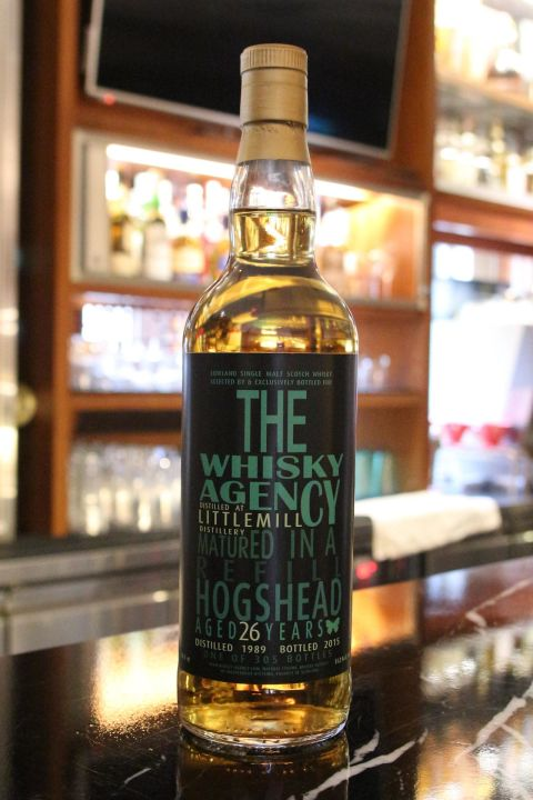 The Whisky Agency Littlemill 1989 26 years TWA 小磨坊 1989 26年 原酒 (700ml 51.2%)