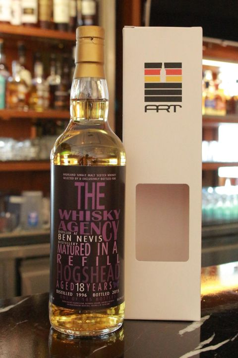 The Whisky Agency Ben Nevis 1996 18 years TWA 班尼富 1996 18年 原酒 (700ml 51.2%)