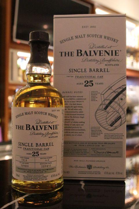 (現貨) The BALVENIE 25 years Single Cask 百富 25年 單桶 傳統桶 (700ml 47.8%)