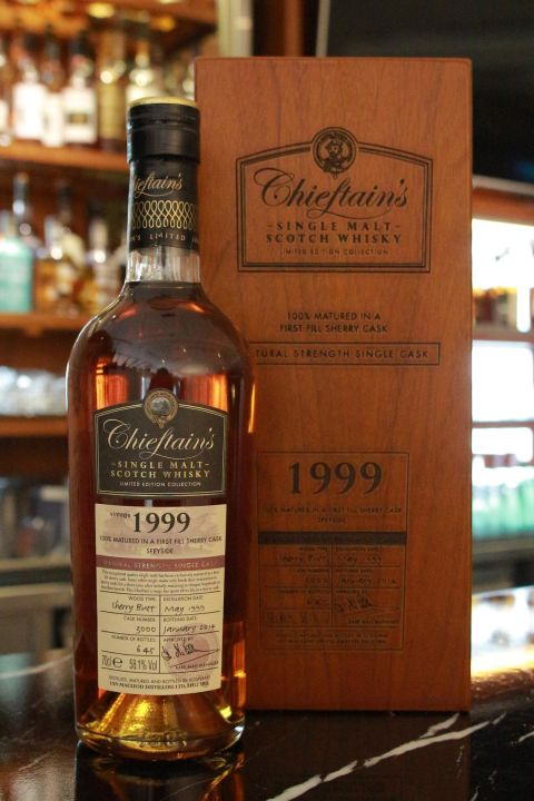 Chieftain's Vintage 1999 Sherry Butt 老酋長 1999 單桶 雪莉桶 (700ml 58.1%)