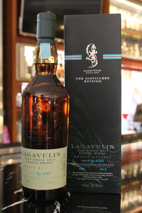 (現貨) LAGAVULIN 1997 Distillers Edition Bottled 2013 拉加維林 1997 酒廠限定版 2013裝瓶 (700ml 43%)