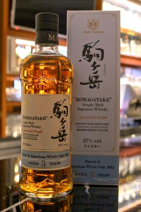 (現貨) Mars KOMAGATAKE 3 years 駒之岳 3年 酒廠復興紀念版 第二版 (700ml 57%)