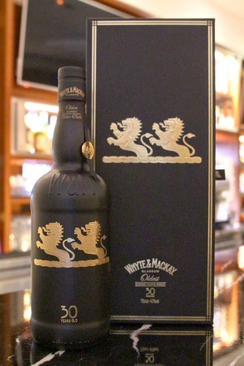 (現貨) Whyte & Mackay 30 years Blended Whisky 懷特馬凱 30年 (700ml 40%)