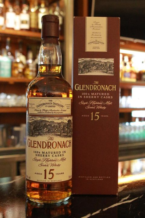 GLENDRONACH 15 years Sherry Casks 格蘭多納 15年 舊版 雪莉桶 (700ml 40%)