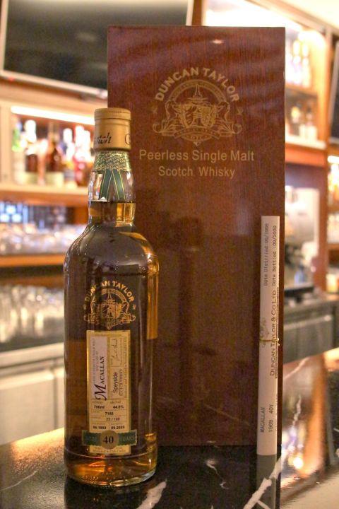 Duncan Taylor Macallan 40 years 當肯泰勒 麥卡倫 40年 單桶原酒 (700ml 44.8%)
