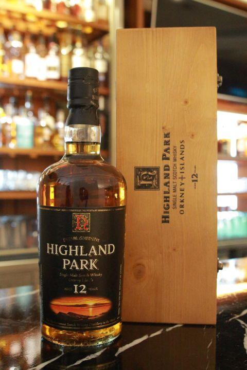 Highland Park 12 years old version 高原騎士 12年 舊版 (750ml 43%)