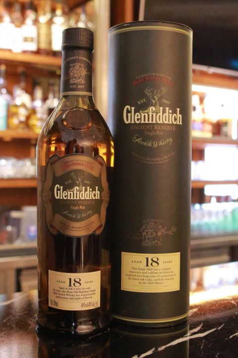 Glenfiddich 18 years Old Version 格蘭菲迪 18年 舊版 (700ml 40%)