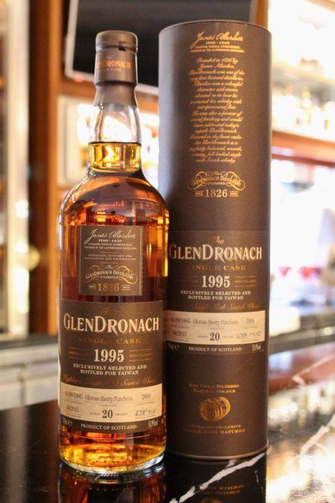 GLENDRONACH 20 years Sherry Puncheon 格蘭多納 20年 雪莉桶 (700ml 53.9%)