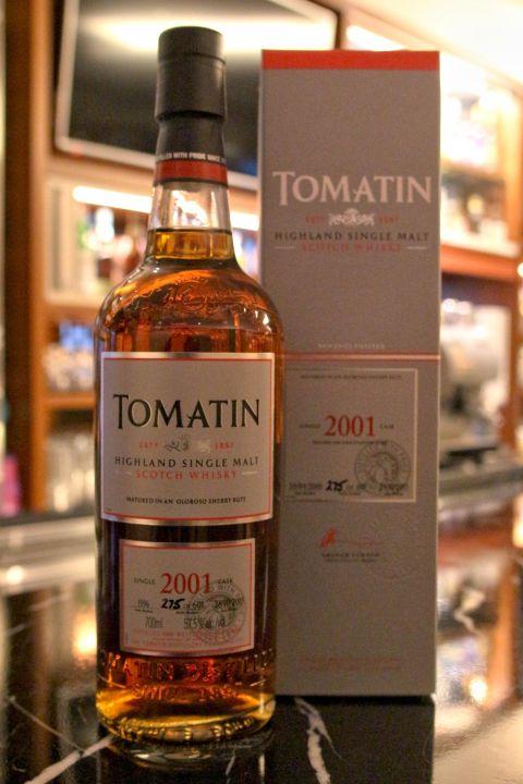 (現貨) Tomatin 2001 Single Cask 湯瑪丁 2001 單桶原酒 雪莉桶 (700ml 57.5%)