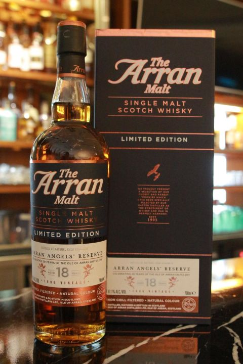 (現貨) ARRAN 1996 18 years Cask Strength 愛倫 1996 18年 限量版 原酒 (700ml 51.1%)
