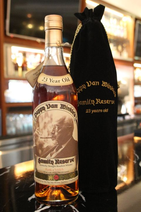 (現貨) Pappy Van Winkle's 23 years Family Reserve Straight Bourbon Whisky 稀有逸品 (750ml 47.8%)