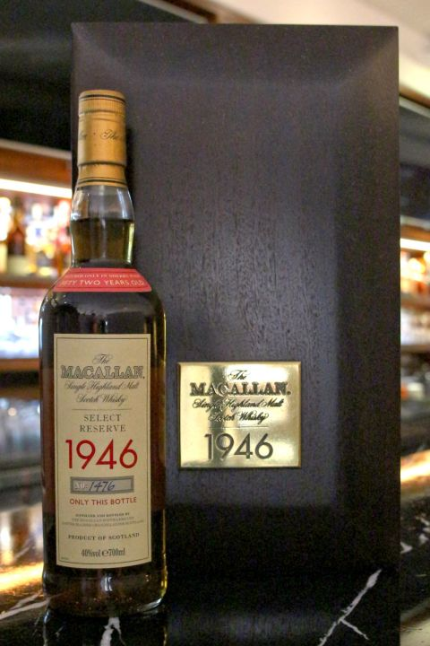 Macallan 1946 Select Reserve 52 years 麥卡倫 1946 稀有珍藏 52年 (700ml 40%)