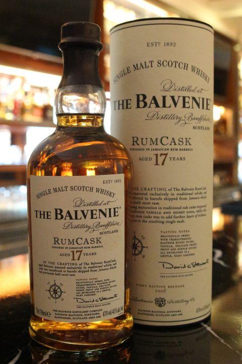 (現貨) The BALVENIE 17 years Rum Cask Old Version 百富 17年 蘭姆酒桶 絕版 (700ml 43%)