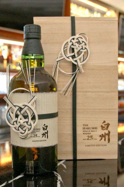 (現貨) Hakushu 25 years special 白州 25年 經典收藏 限定版 (700ml 43%)