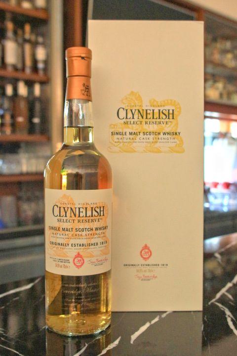 (現貨) CLYNELISH Select Reserve 克萊力士 精選桶 原酒 (700ml 54.9%)