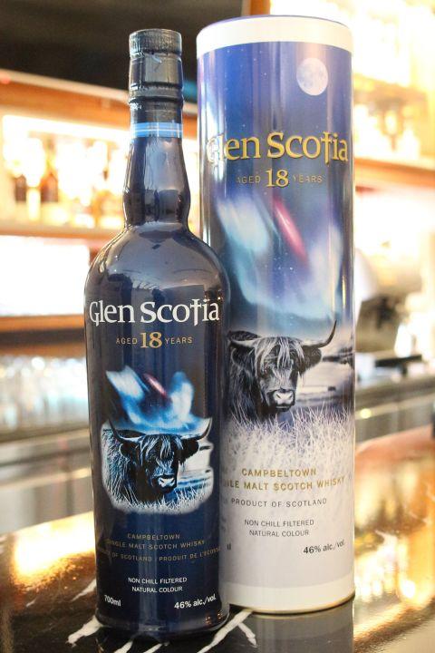 (現貨) Glen Scotia 18 years 格蘭帝 斯高夏 18年 (700ml 46%)