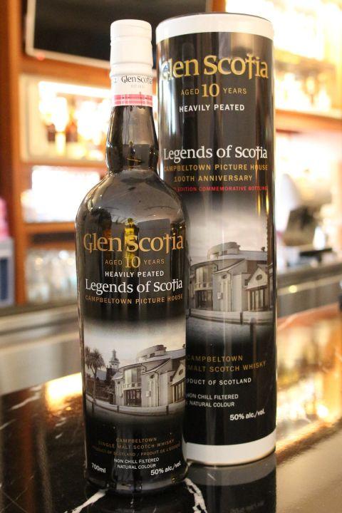 (現貨) Glen Scotia 10 years Legend of Scotia 格蘭帝 斯高夏 10年 傳奇 重泥煤 (700ml 50%)