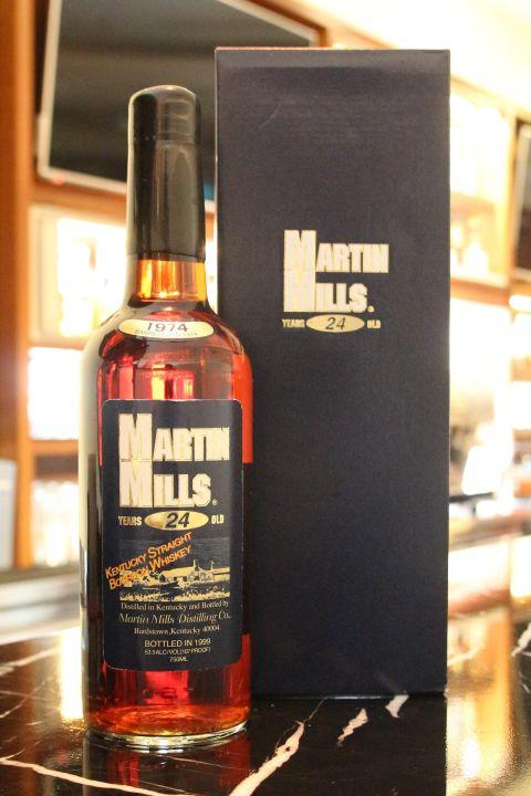 (現貨) Martin Mills 24 years 美國 經典威士忌 老品 1999年裝瓶 拍賣會等級 (750ml 53.5%)