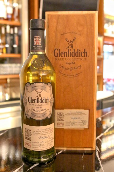Glenfiddich Vintage 1978 31 years 格蘭菲迪 1978 31年 單桶 (700ml 50.7%)