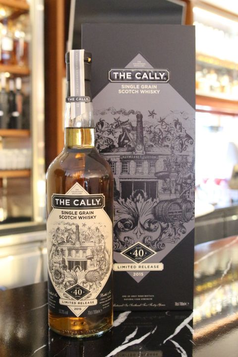 (現貨) The CALLY  40 years Single Grain Whisky 凱莉 40年 單一穀物威士忌 (700ml 53.3%)
