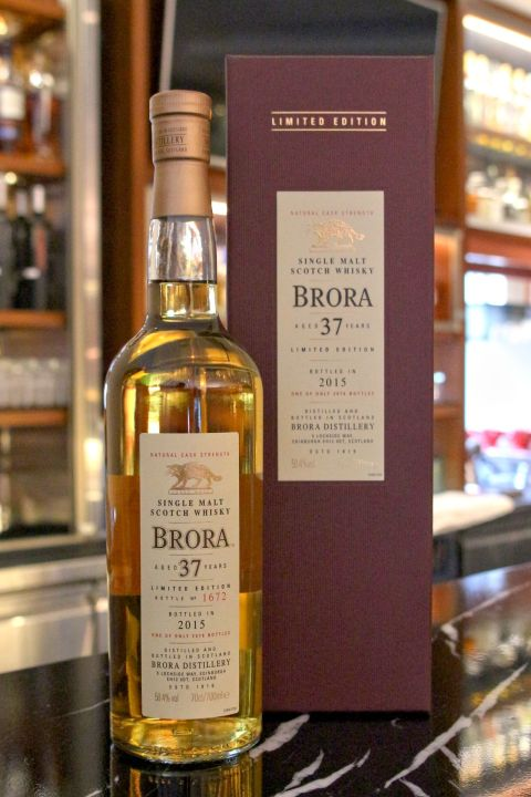 (現貨) BRORA 37 years 布朗拉 37年 2015 消失的酒廠 (700ml 50.4%)