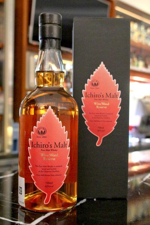 (現貨) CHICHIBU Ichiro's Malt Wine Wood Reserve 秩父 紅葉 紅酒桶 (700ml 46%)
